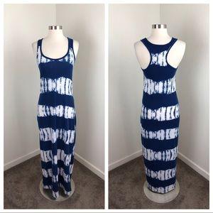 Derek Heart tie dye maxi dress